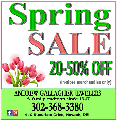 Spring sale ad 2016